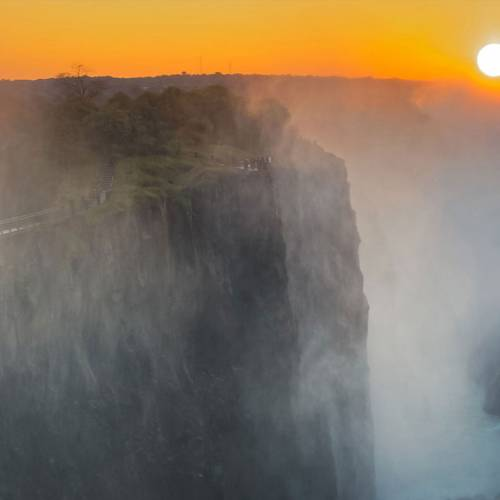 About The Victoria Falls