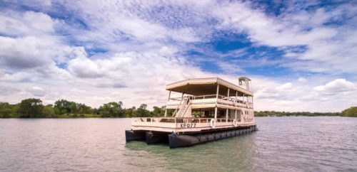 Sunset Cruise on the Zambezi Explorer